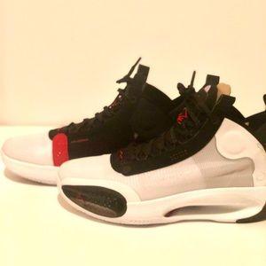 """Air Jordan XXXIV 34 """"BREAD"""" Basketball Shoes SZ 9"""